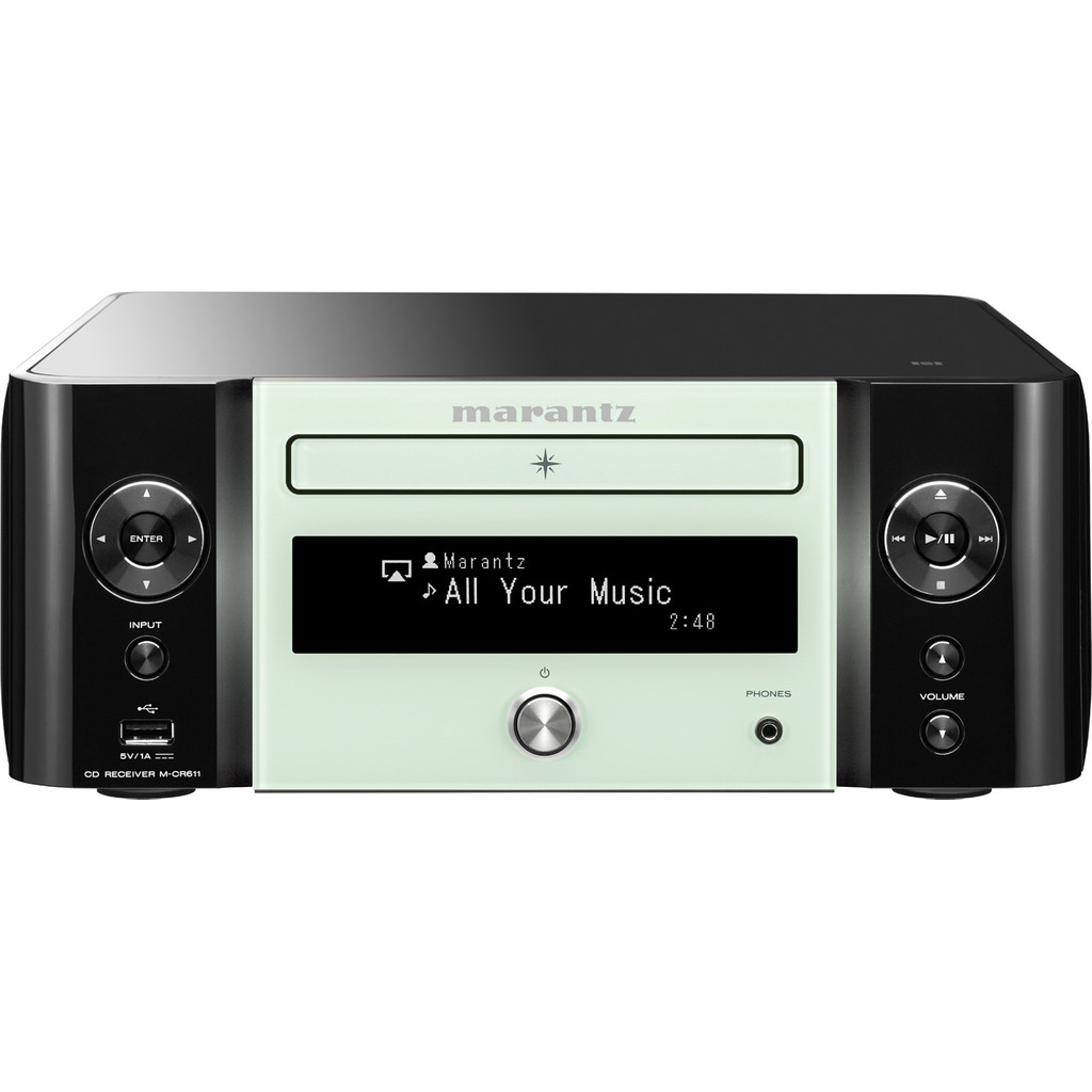 Marantz M-CR611 Zwart/Wit in Malmedy