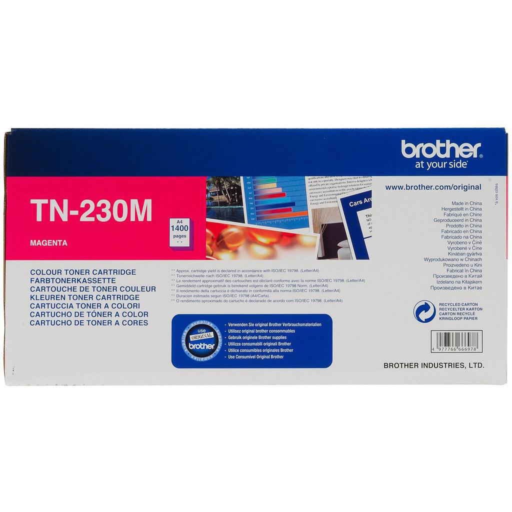 Brother TN-230M Toner Magenta (rood) kopen