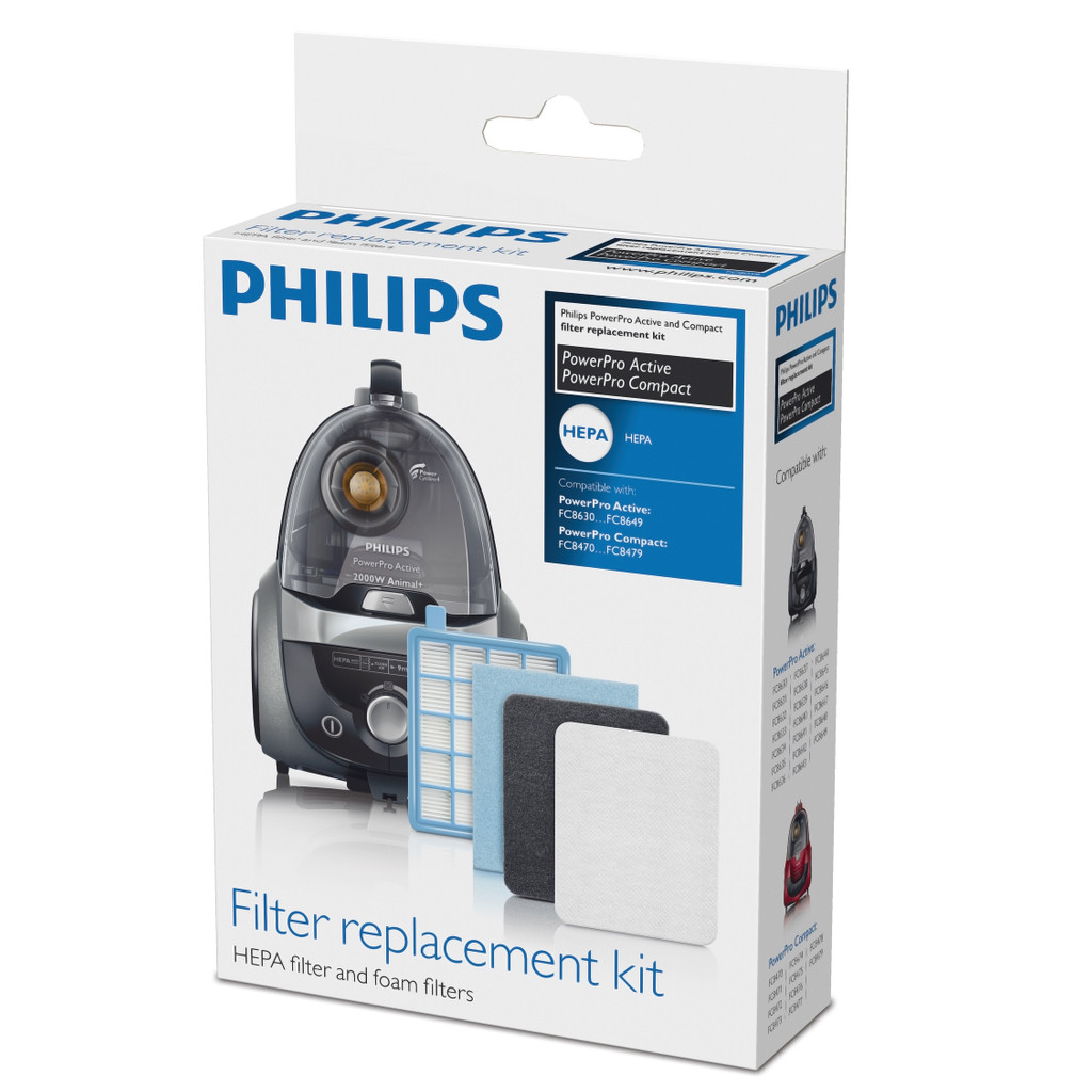 Philips Filter Vervangingsset FC8058/01 in Hoogeind