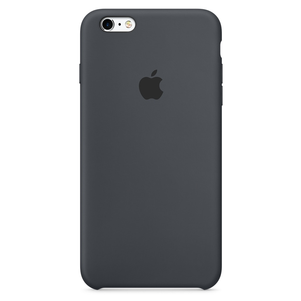 Apple Silikon Case iPhone Cover Geschikt voor model (GSM's): Apple iPhone 6S, Apple iPhone 6 Antraci
