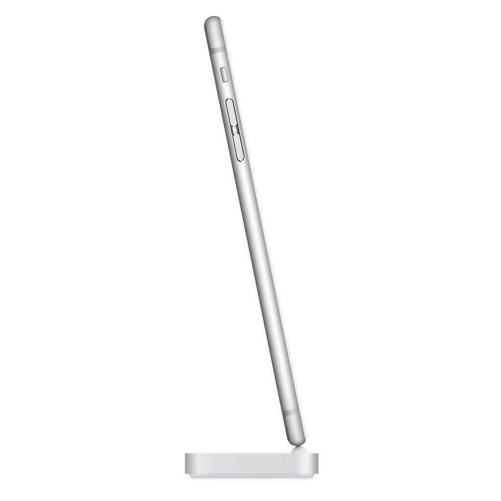 Apple iPhone Lightning Dock Zilver in Flobecq/Vloesberg