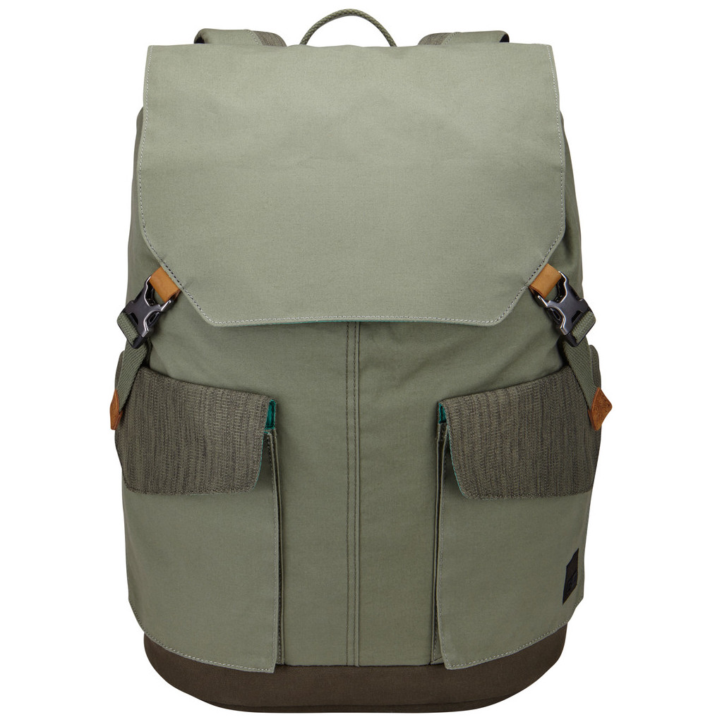 Case Logic LODP-115 Laptop Backpack Large Petrol Green