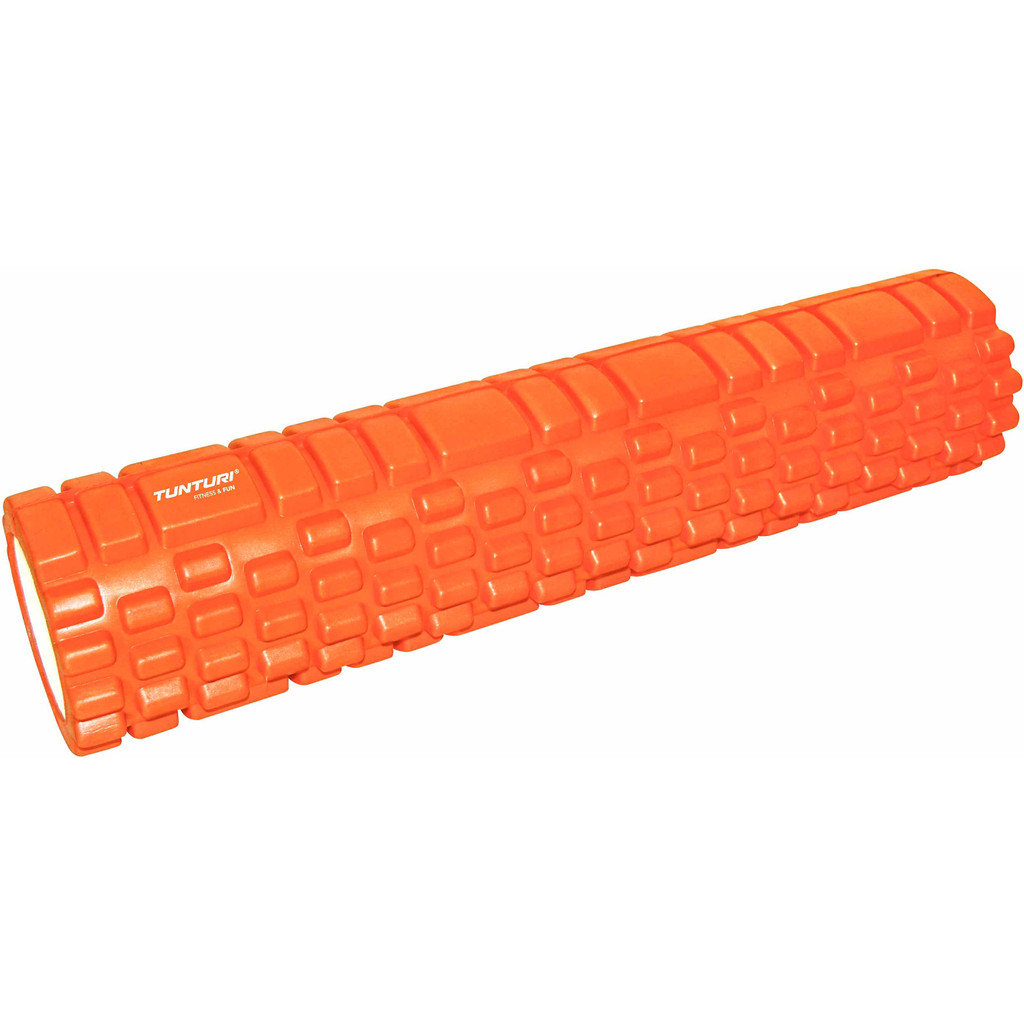 Tunturi Yoga Foam Grid Roller 61 cm Orange in Morra / Moarre