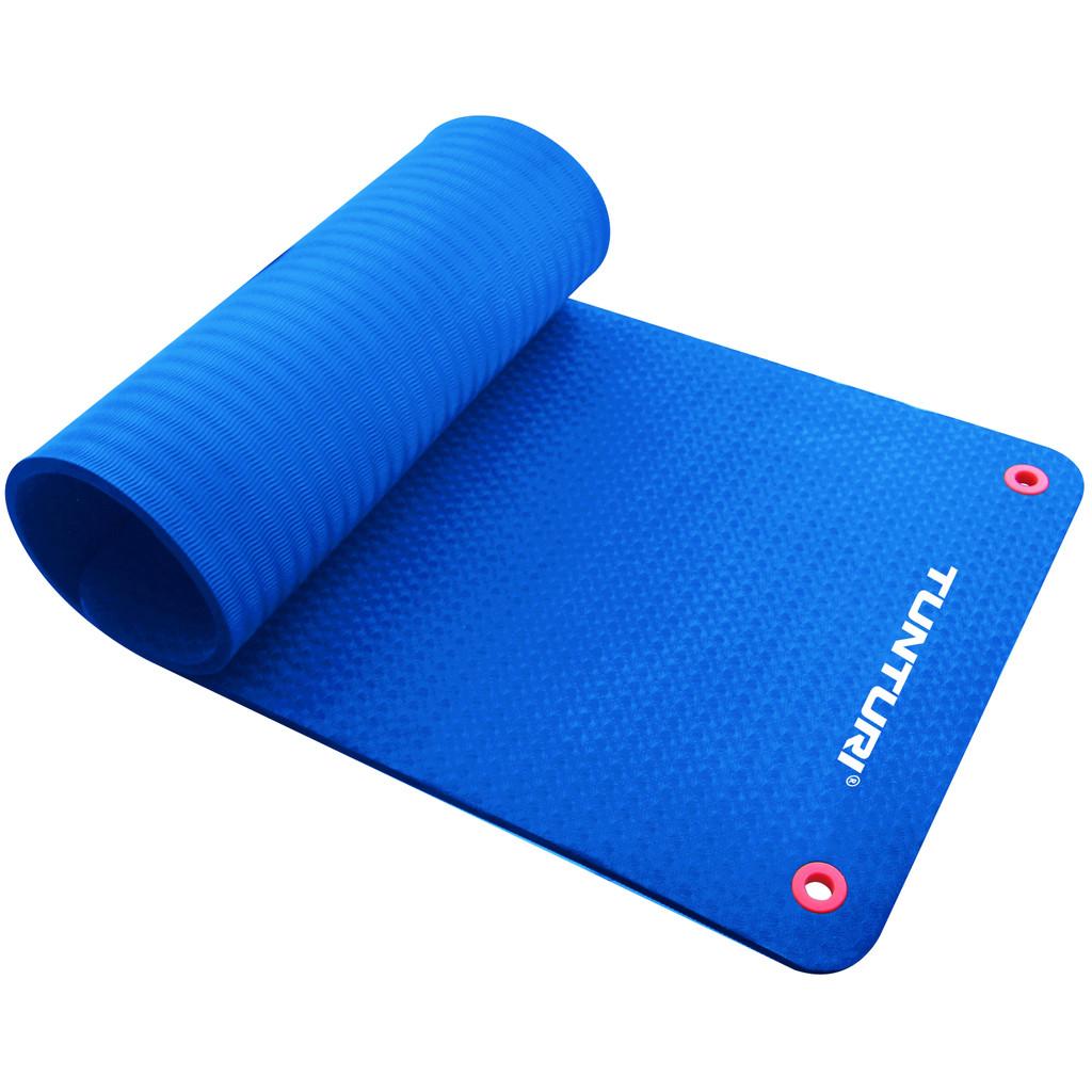 Tunturi Fitnessmat Pro 180 cm Blue kopen