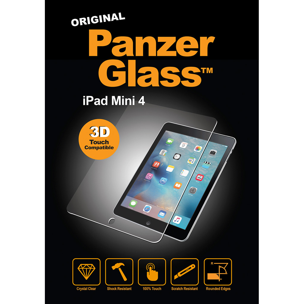 PanzerGlass Screenprotector Apple iPad Mini 4 in Sougné-Remouchamps
