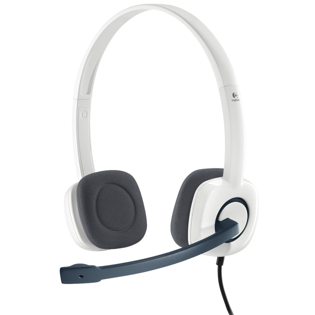 Logitech Stereo Headset H150 Wit in Mallem