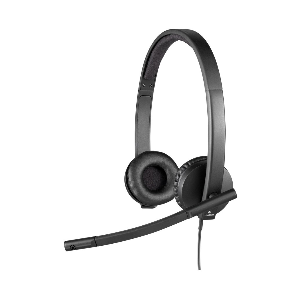 Logitech USB Headset Stereo H570e Zwart in Hollander