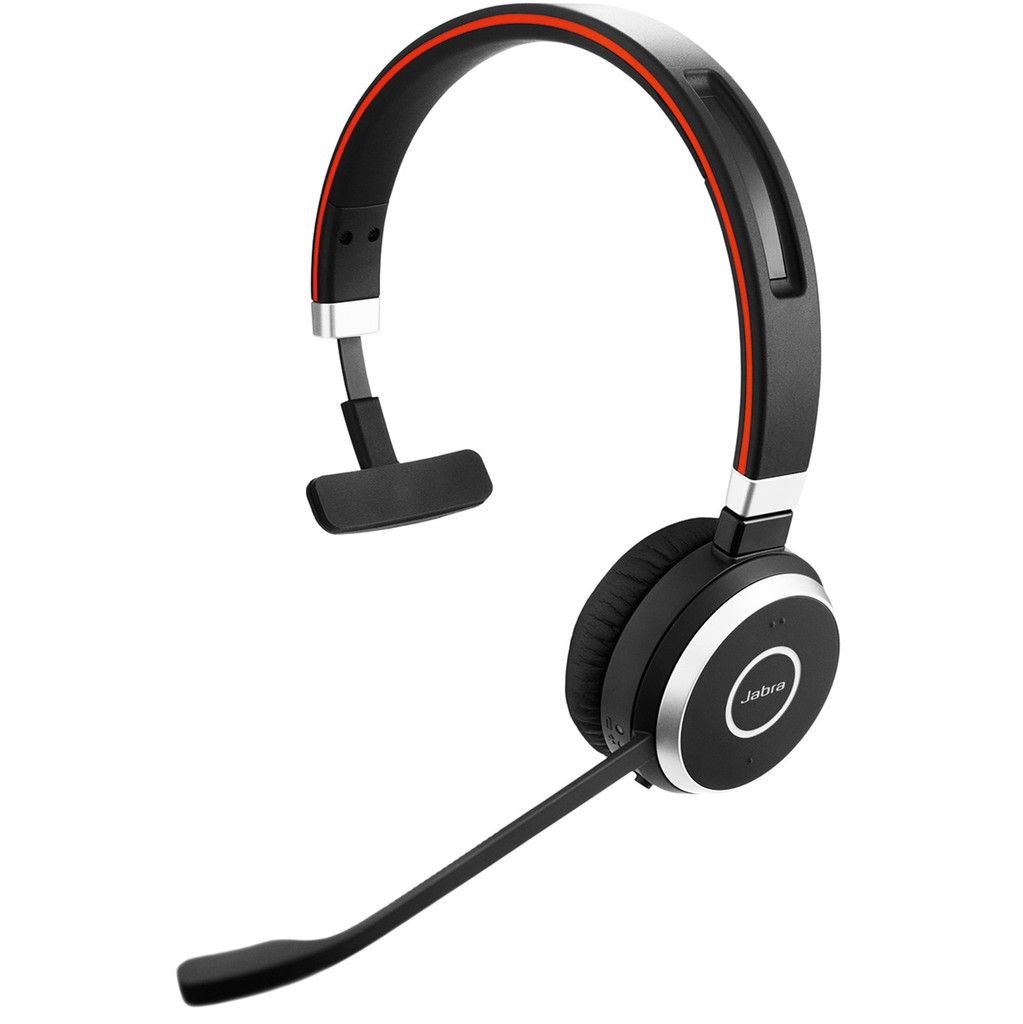 Jabra Evolve 65 UC Mono Office Headset in Termoors