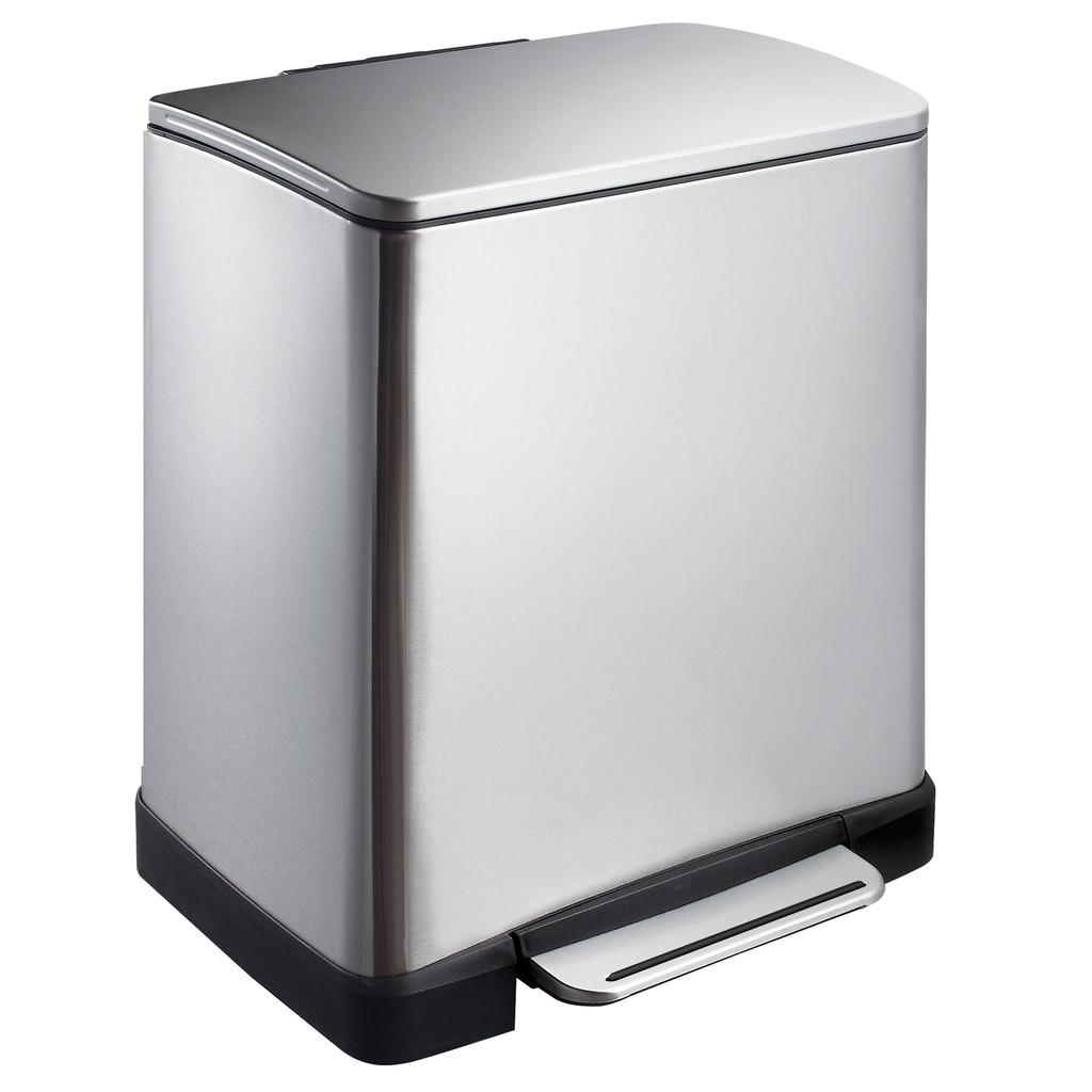 EKO E-Cube 10 + 9 Liter Mat RVS