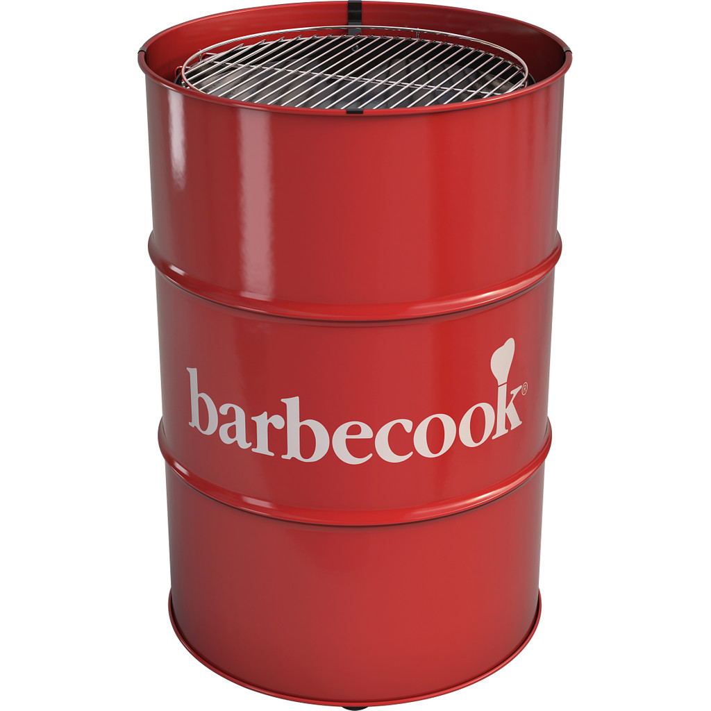 Barbecook Edson rood Houtskool Barbecue
