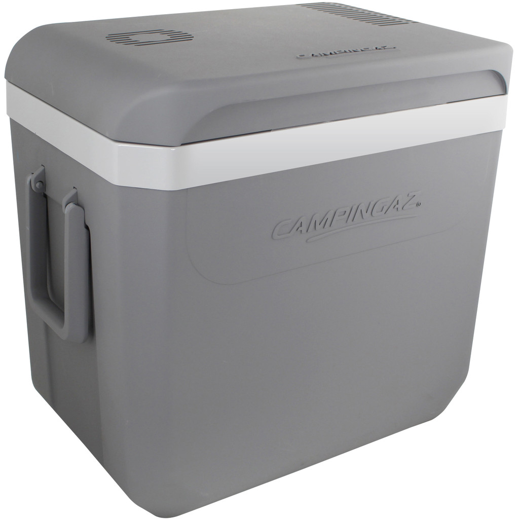 Campingaz Powerbox Plus 36L Grey/White - Elektrisch in Slijkplaat