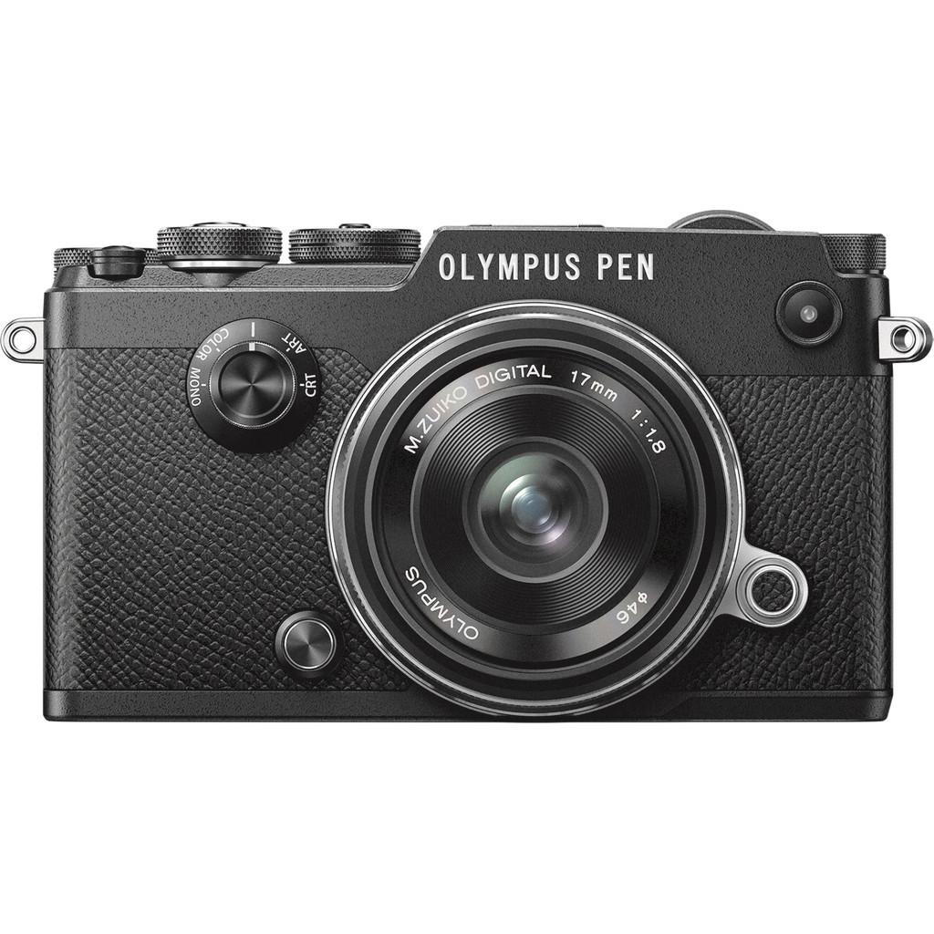 Olympus PEN-F Zwart + 17mm kopen