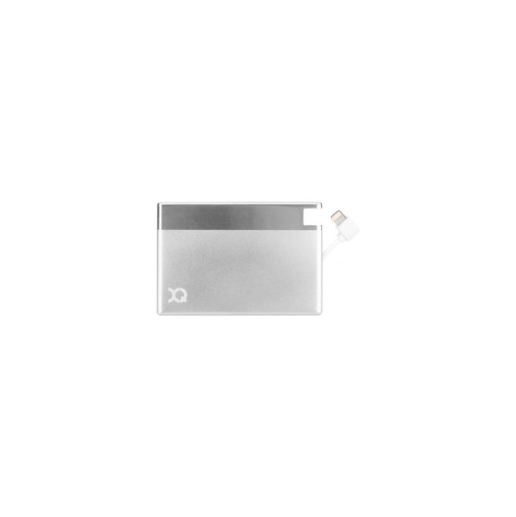 Xqisit Ultra Slim Powerbank 1350 mAh Lightning Zilver kopen
