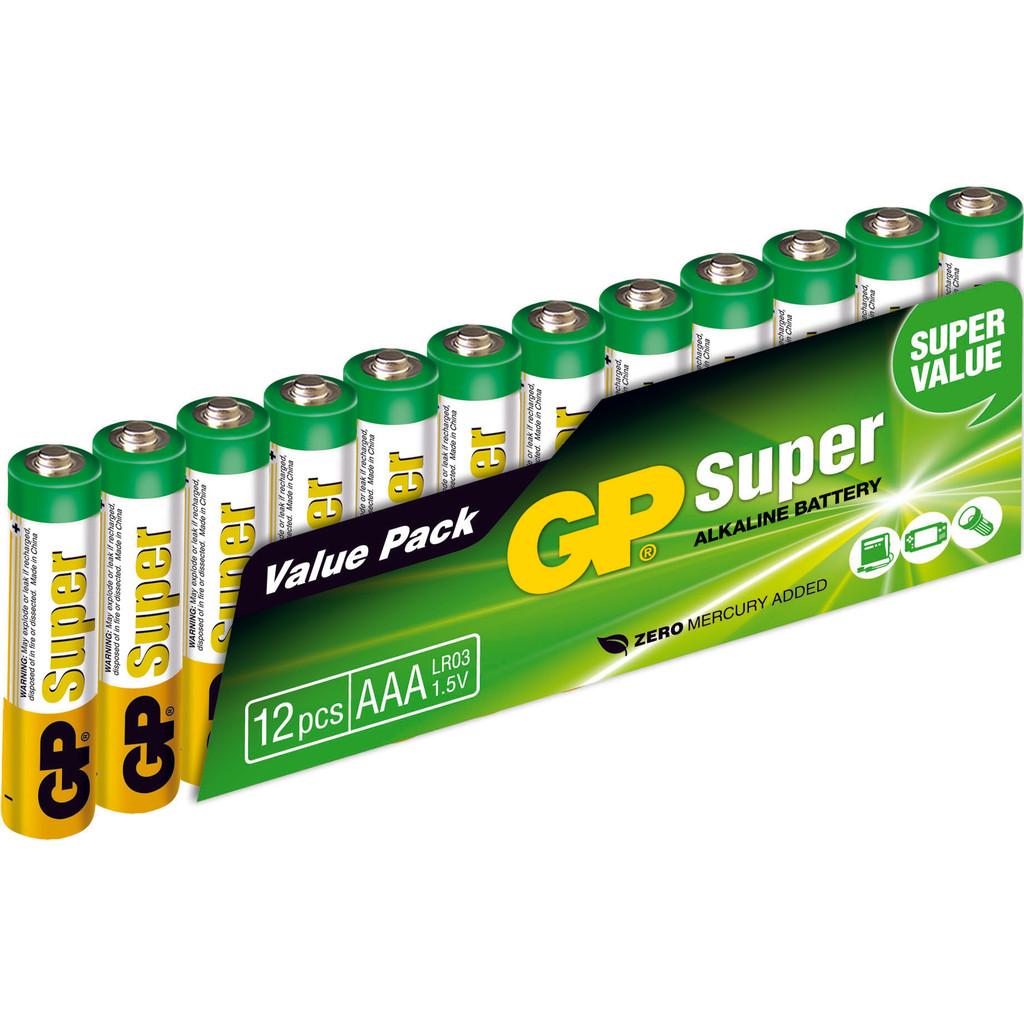 GP Super Alkaline Valuepack 12x AAA in Nieuw-Vennep