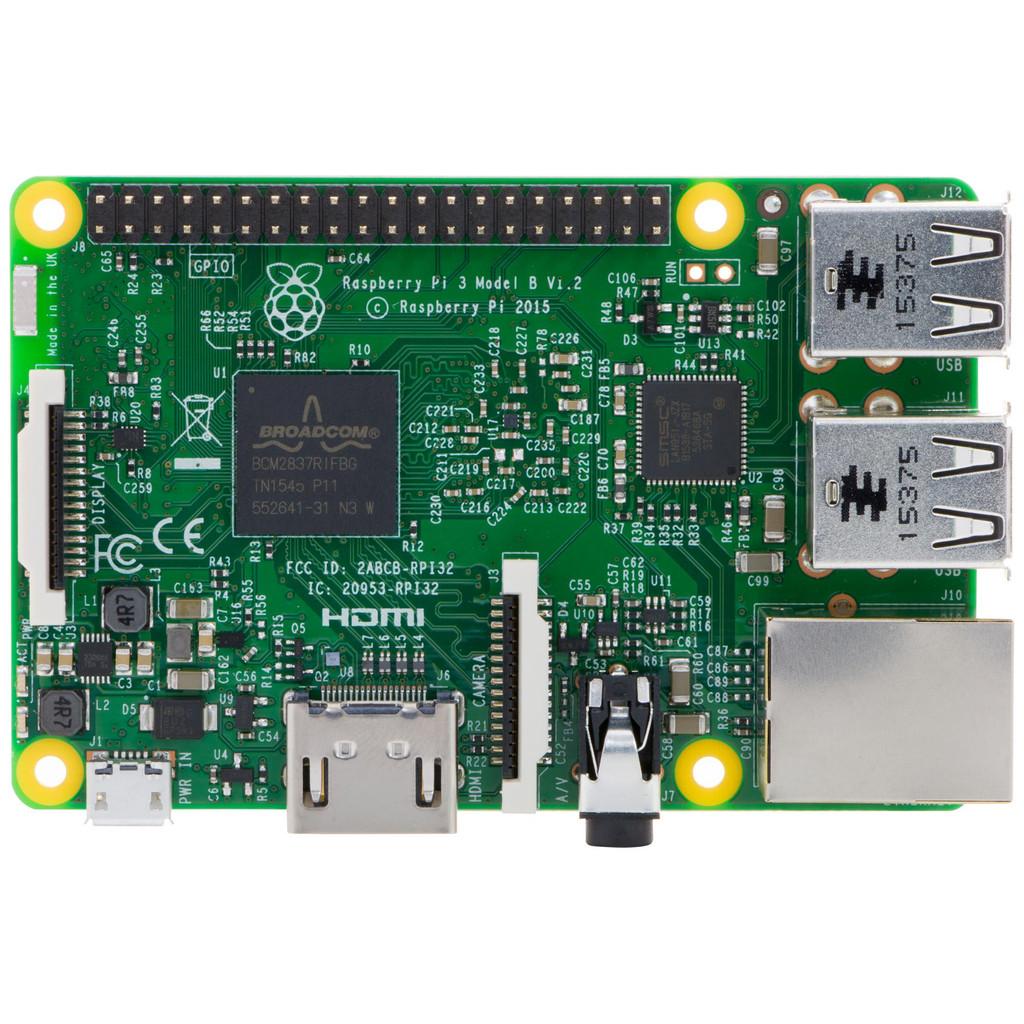 Raspberry Pi 3 Model B in Wortegem-Petegem