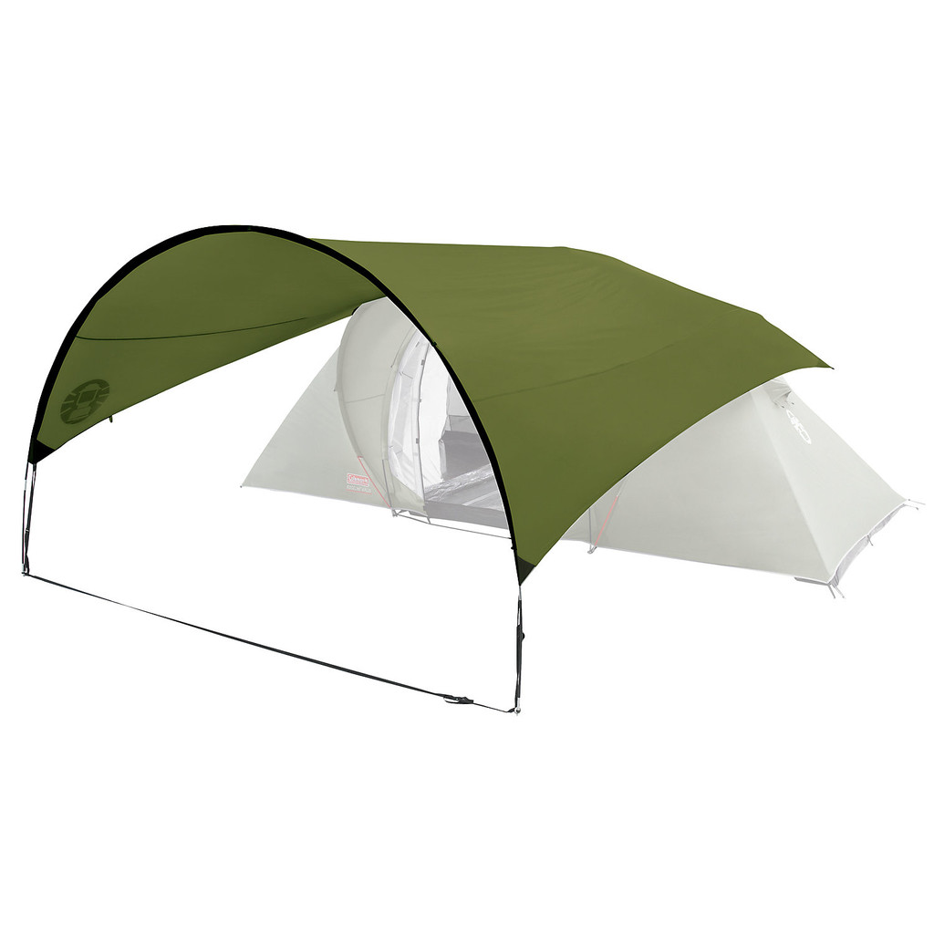 Coleman Classic Awning Green in Rebecq