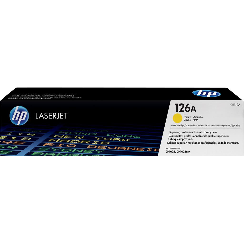 HP 126A Yellow LaserJet Toner (geel) (CE312A) kopen
