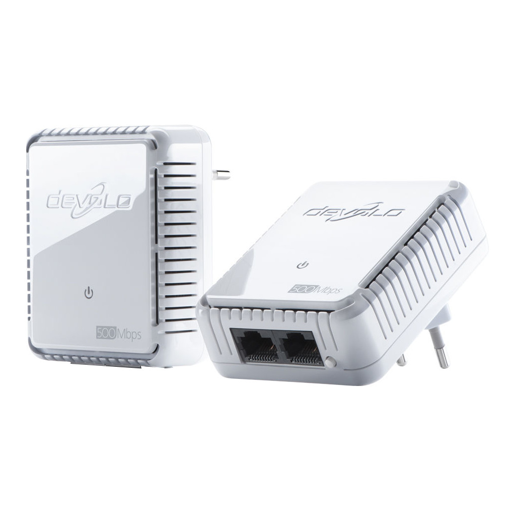 Afbeelding van Devolo dLAN 500 Duo Geen WiFi Mbps 2 adapters powerline adapter