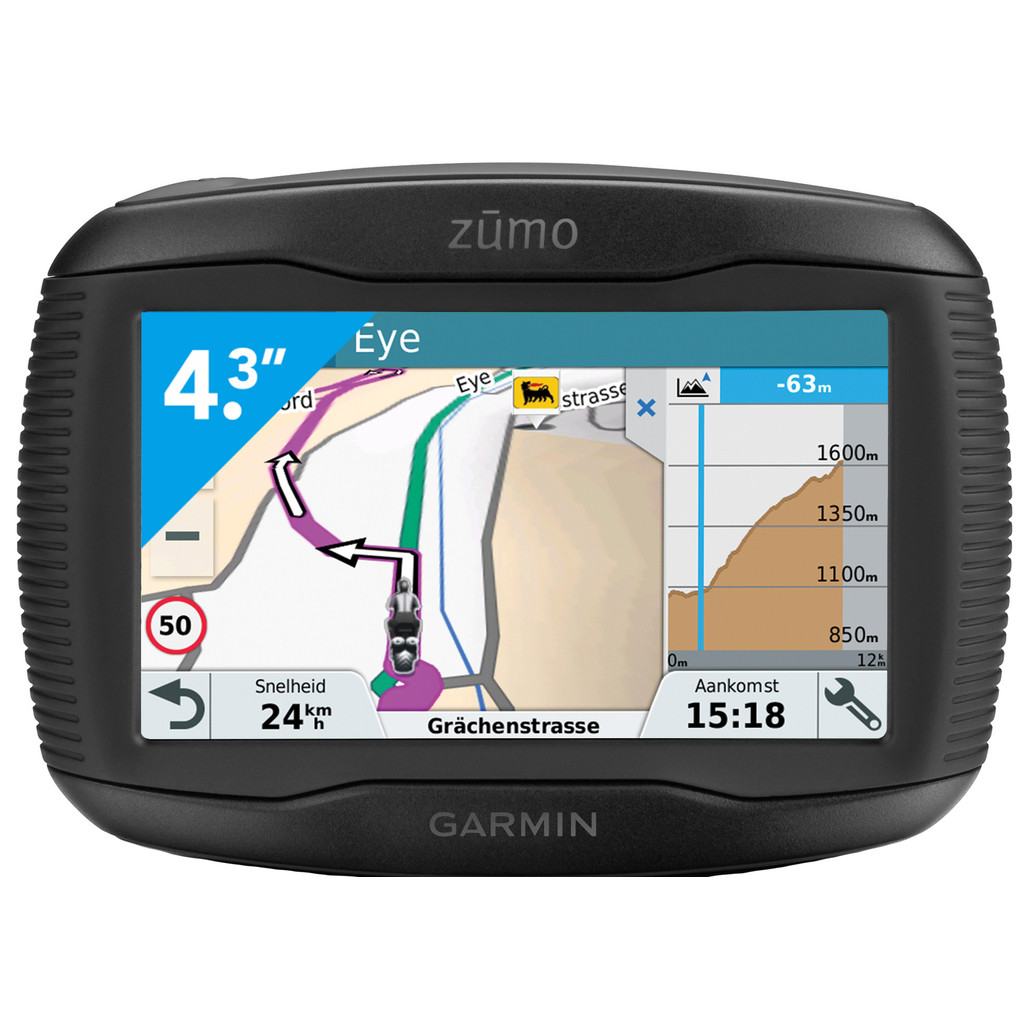 Garmin Zumo 345 LM West Europa in Zand