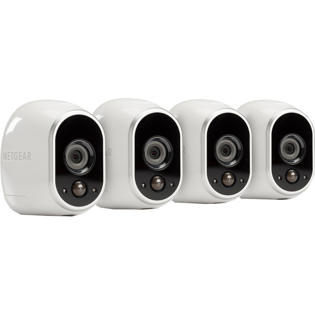 Arlo by Netgear Smart Home HD-camera Four Pack