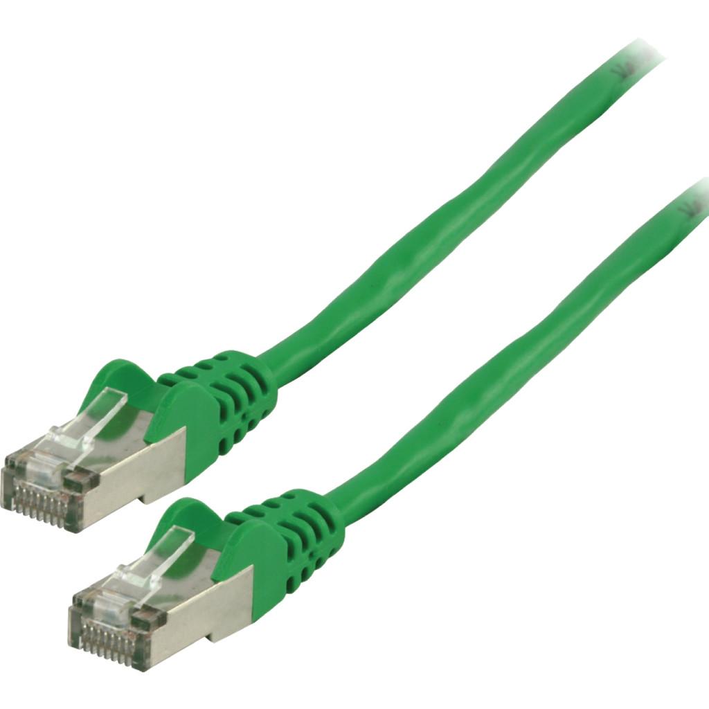 Valueline Netwerkkabel UTP CAT5e 0,5 meter Groen