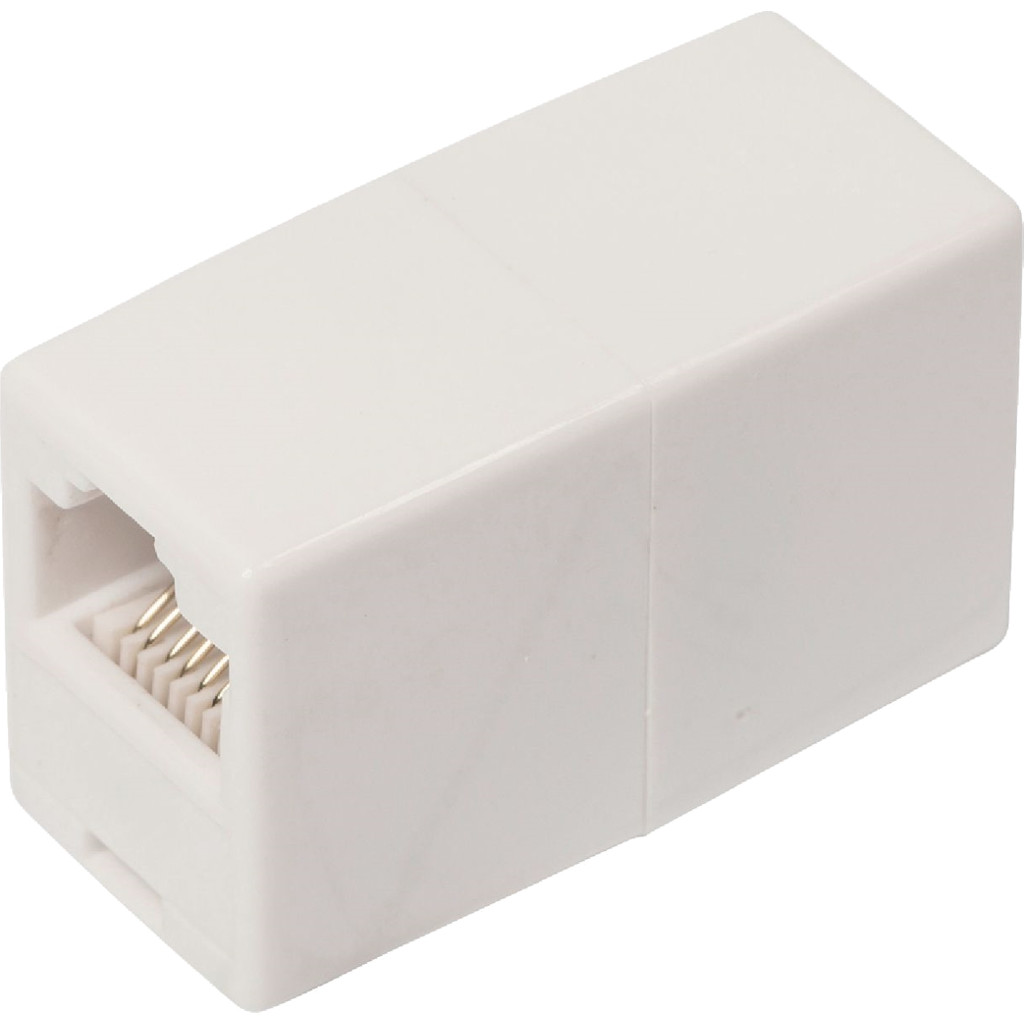 Valueline RJ45 CAT5 Koppeling Wit