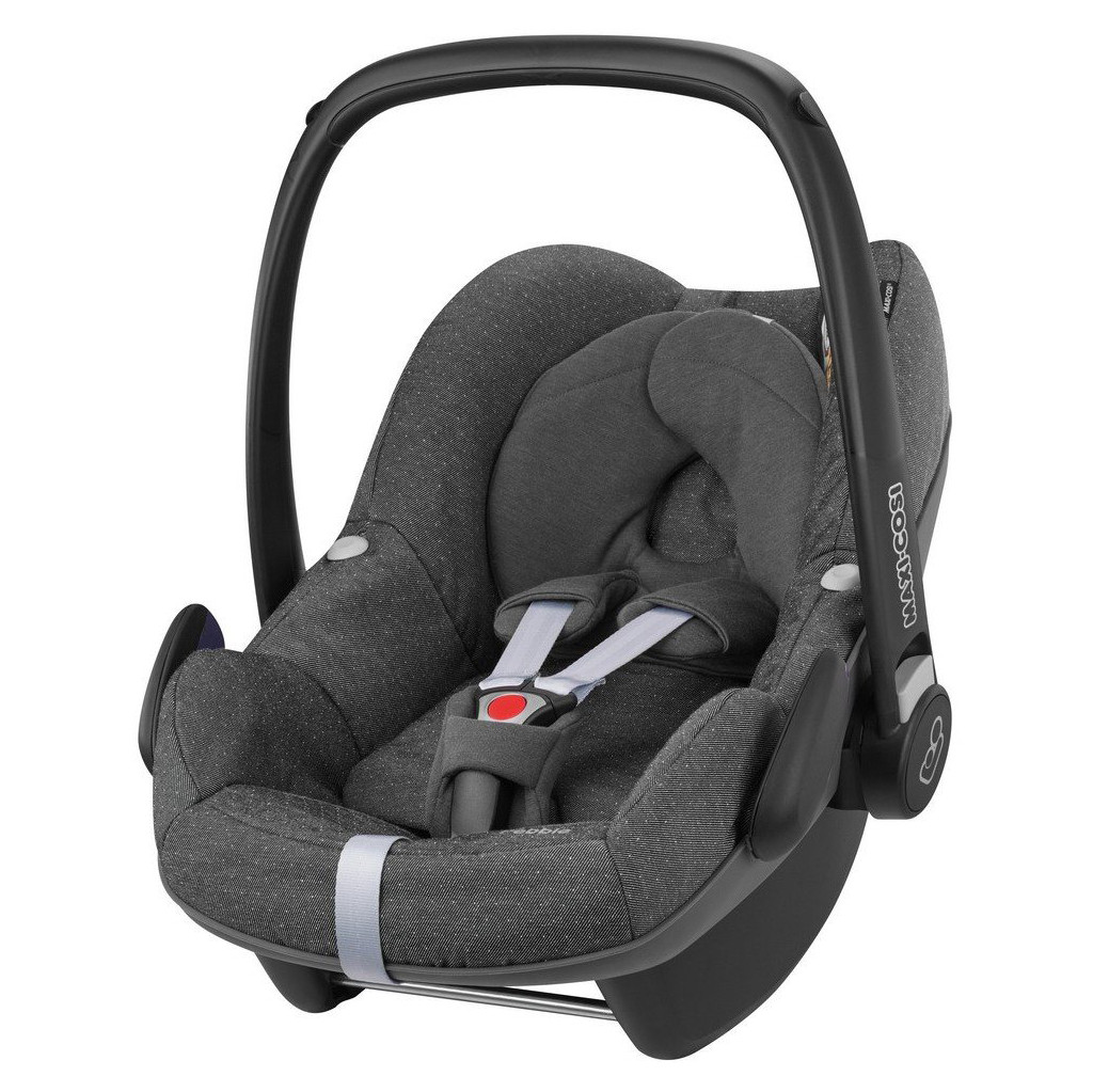 Maxi-Cosi Pebble Sparkling Grey in Tweedeweg