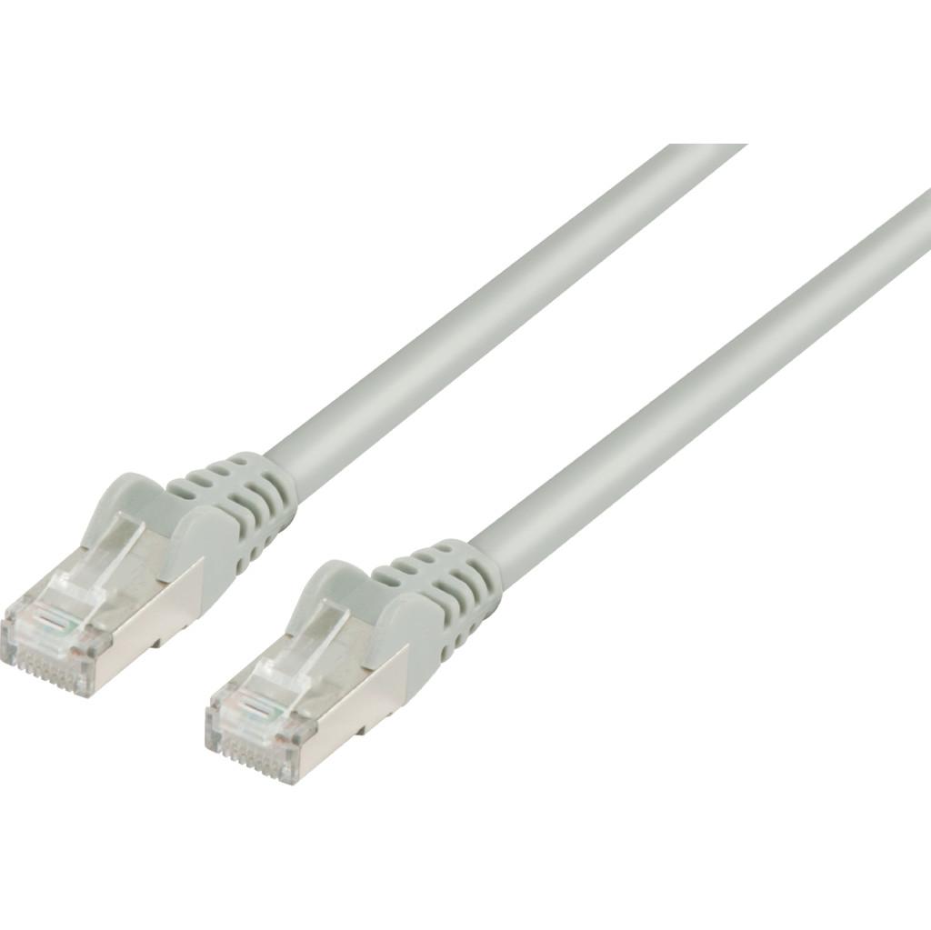 Valueline Netwerkkabel FTP CAT6 0,5 meter Grijs