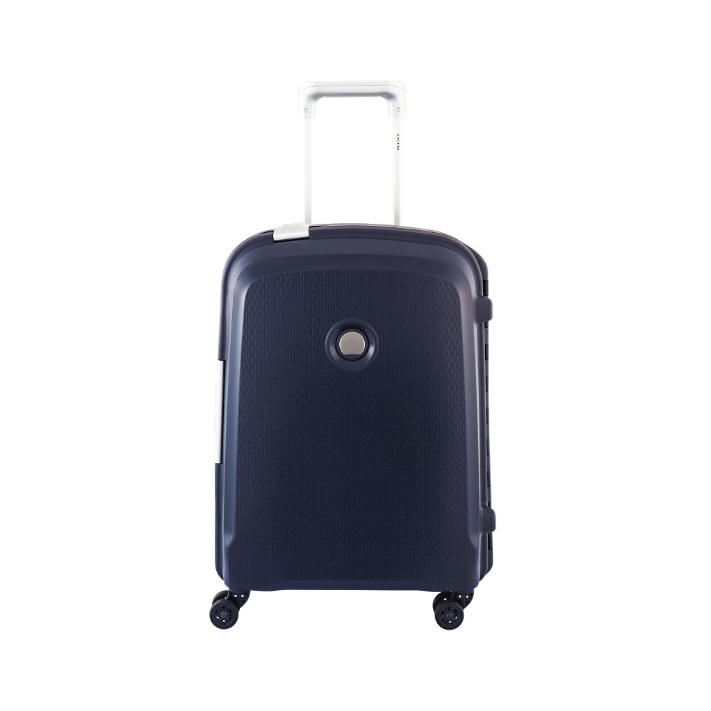 Delsey Belfort Plus Valise Spinner Cabin Trolley Slim 55 Blue