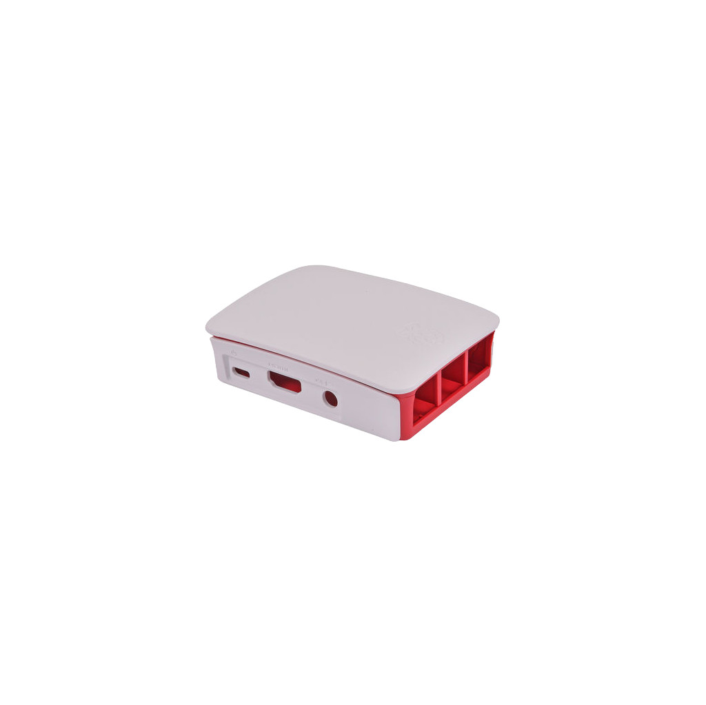 Raspberry Pi Case 3 B 2 B Rood Wit in Meerven