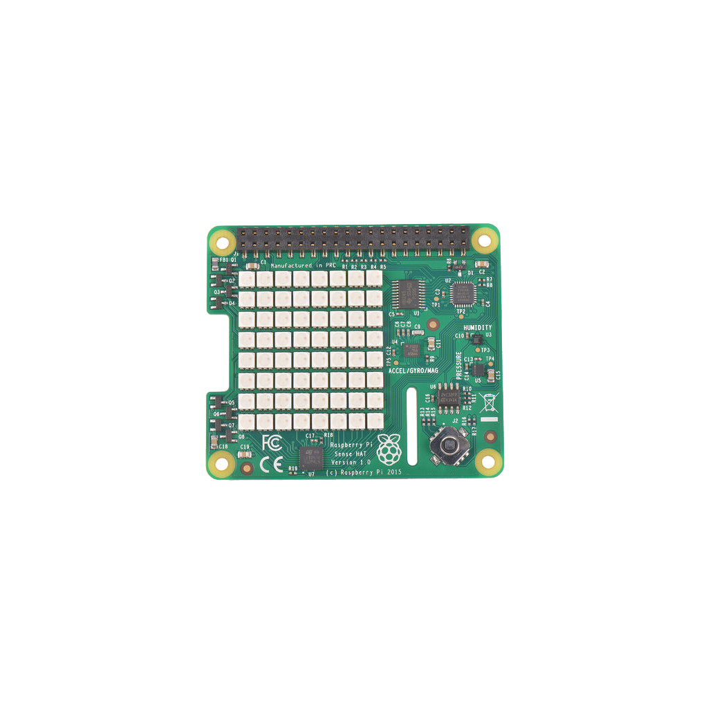 Raspberry Pi Sense Hat in Porcheresse (Lux.)