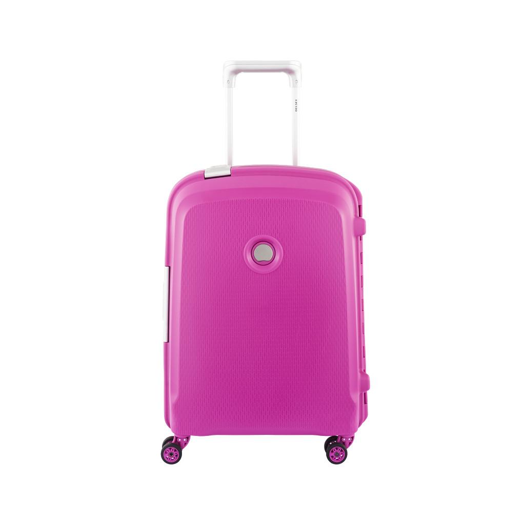 Afbeelding van Delsey Belfort Plus Slim Trolley 55cm Roze koffer