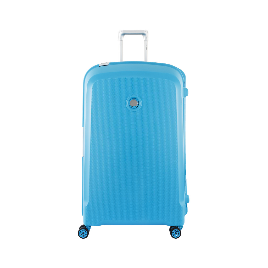 Delsey Belfort Plus Valise Spinner 82 Teal Blue