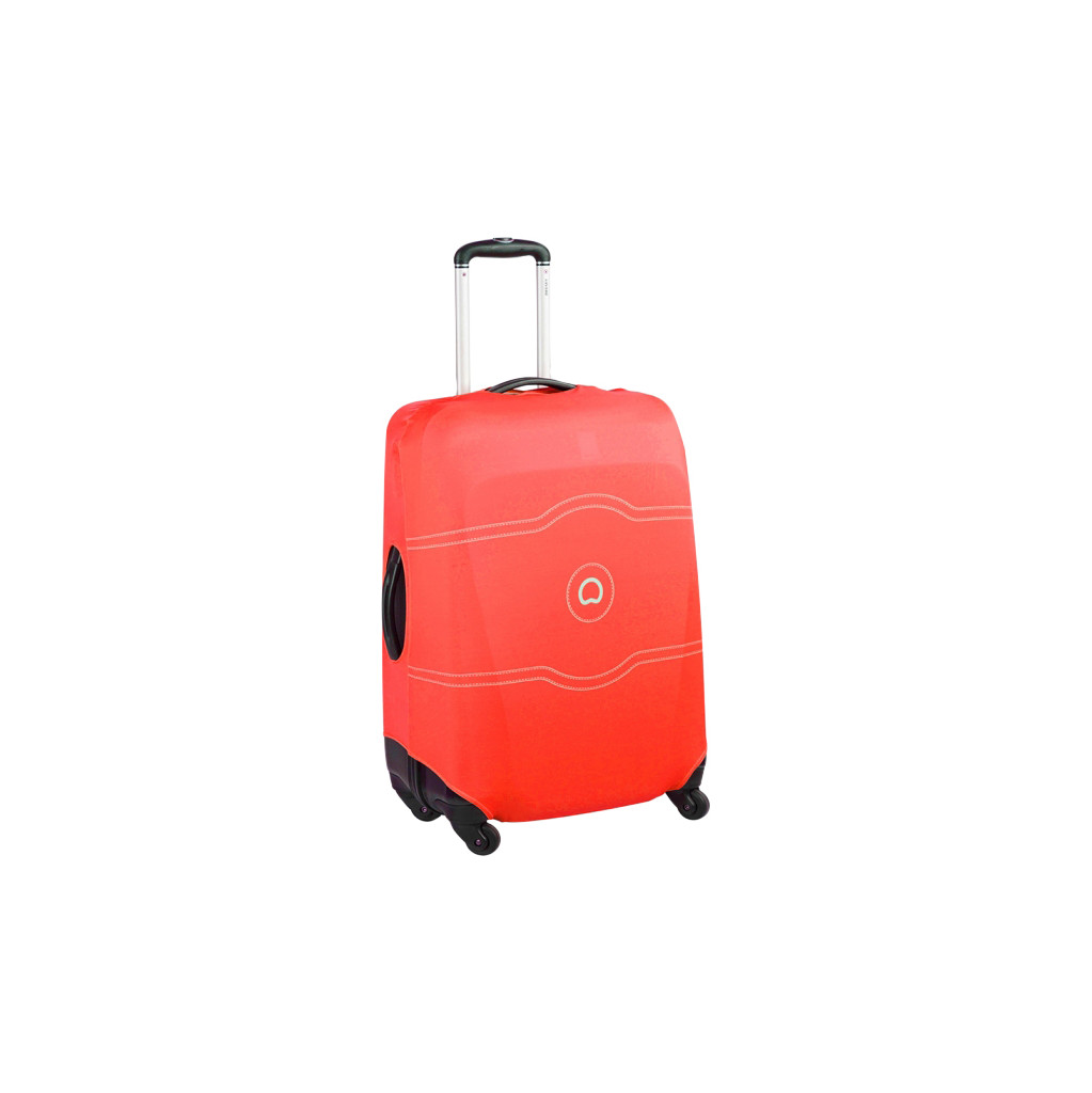 Delsey Travel Necessities Suitcase Cover S/M Red in Sint Maartensbrug