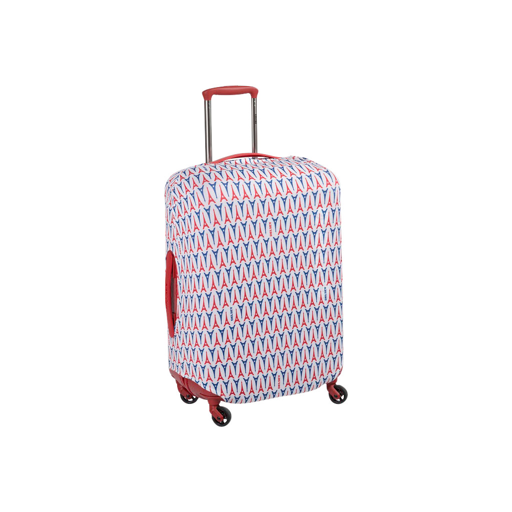 Delsey Travel Necessities Suitcase Cover S/M Eiffel Tower in Braambos(ch)