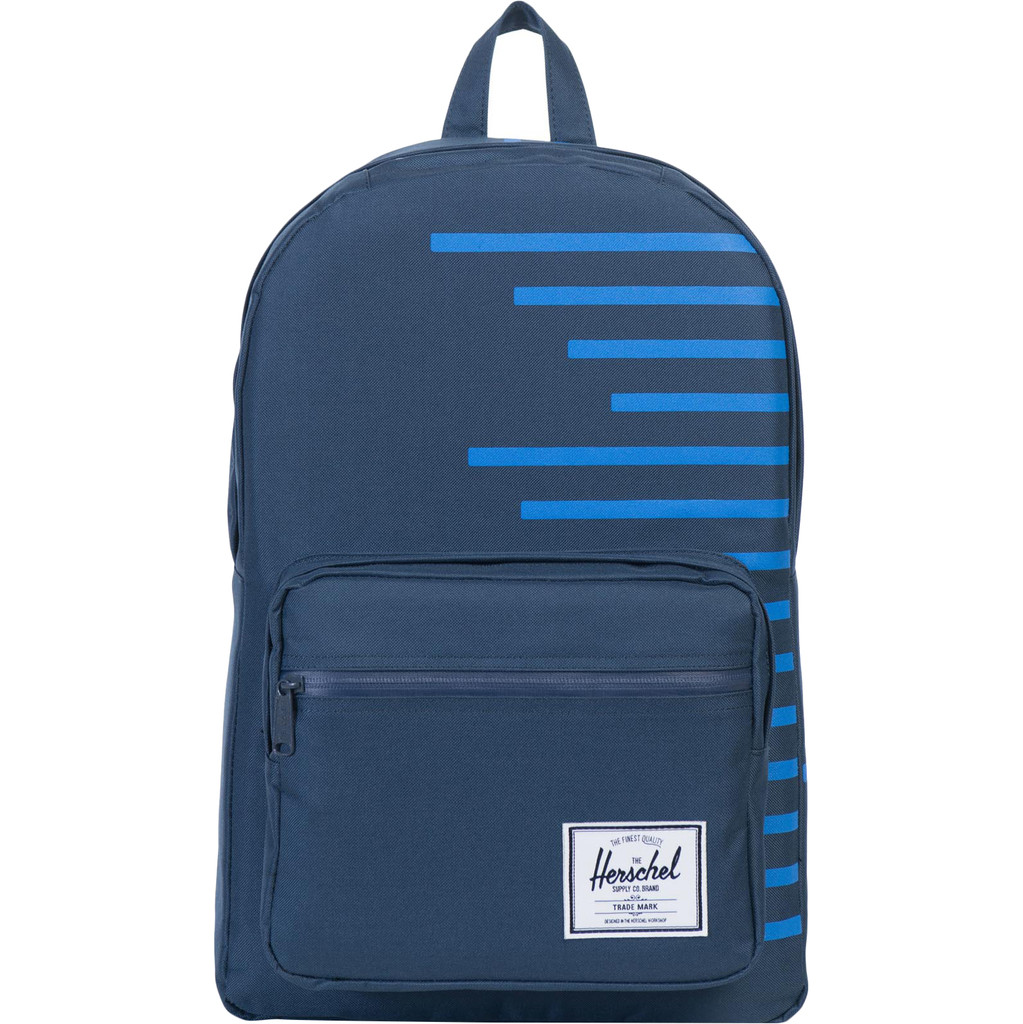 Herschel Pop Quiz Navy-Cobalt Stripes
