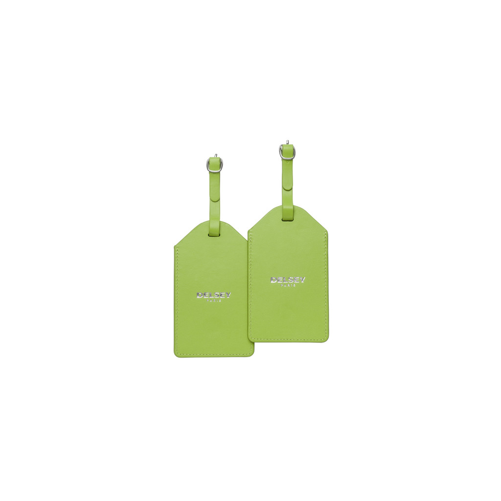 Delsey Travel Necessities Hangtag (x2) Lime in Grevenberg