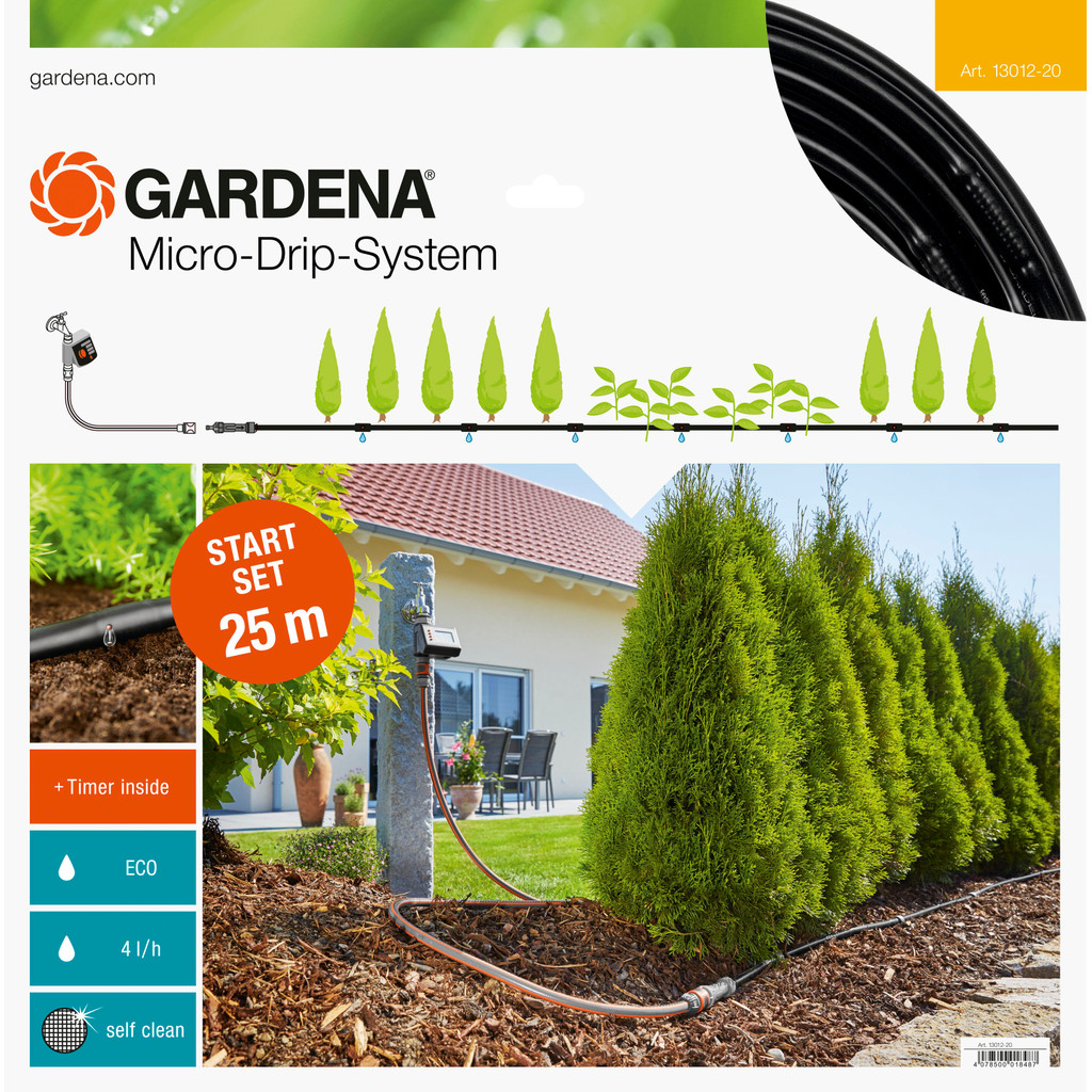 Gardena Micro Drip Start Set M 25 Meter Automatisch in Borger