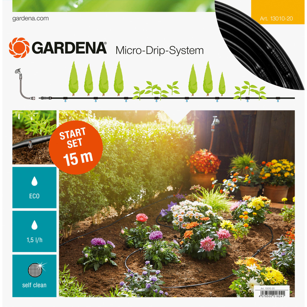 Gardena Micro Drip Start Set S 15 Meter in Broekhuizen