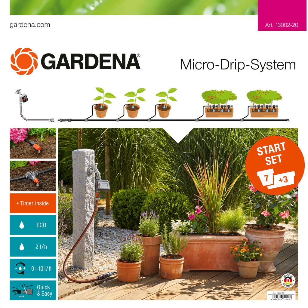 Gardena Micro Drip Start Set M Besproeiingscomputer in Hondelange