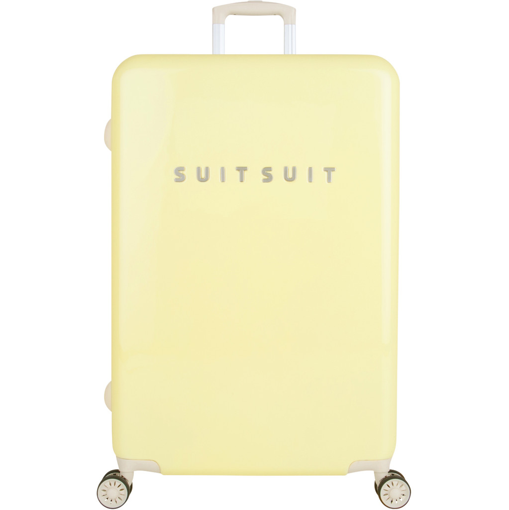 SUITSUIT Koffers Suitcase Fabulous Fifties 28 inch Spinner Geel