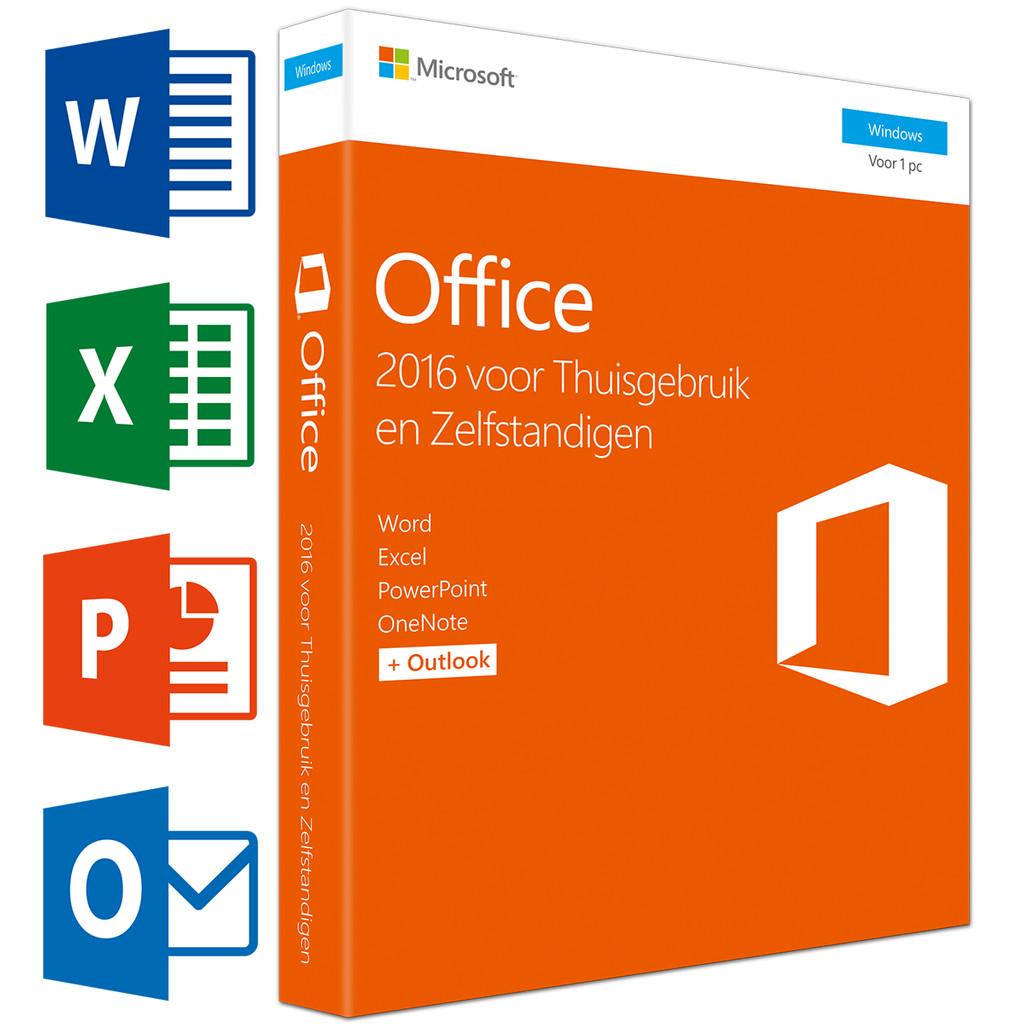 Microsoft Office 2016 Thuisgebruik en Zelfstandigen NL in Slingenberg