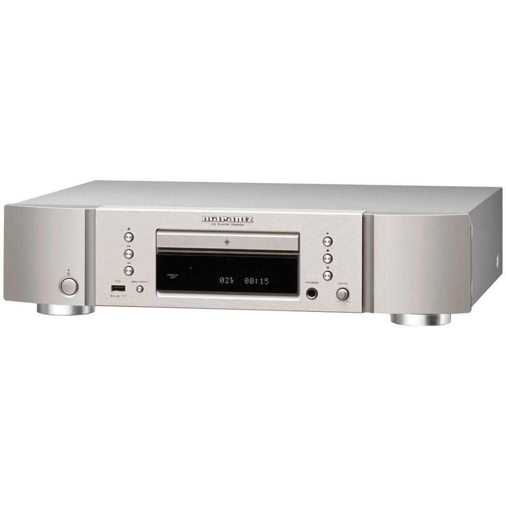 Marantz CD6006 Zilver/Goud in Roekebosch