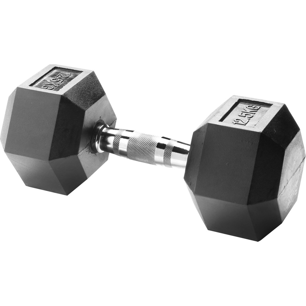 Body Sculpture Hexa Rubber Dumbbell 1x 12,5 kg in Nijswiller