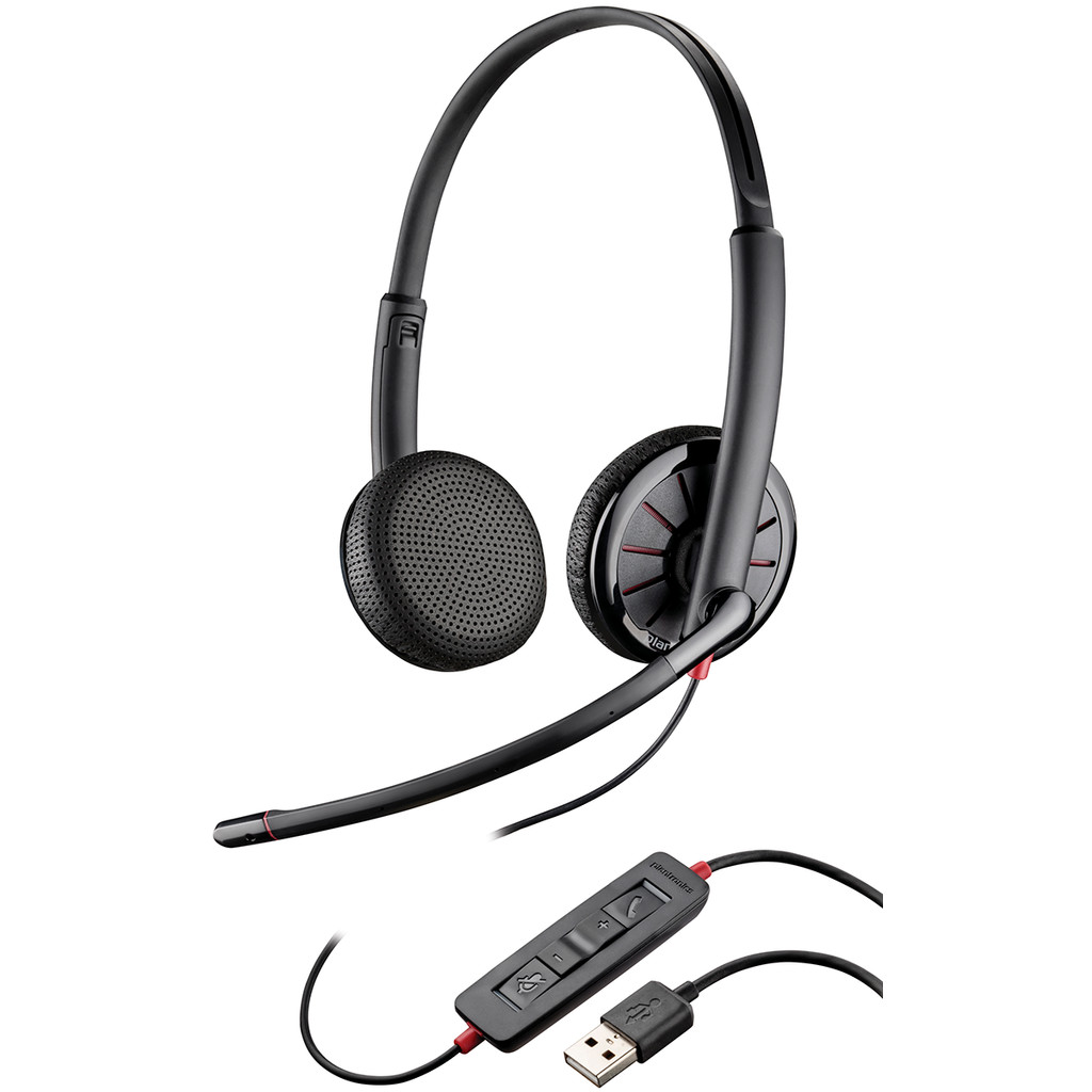Plantronics BlackWire C325.1-M Office Headset in Uitdam