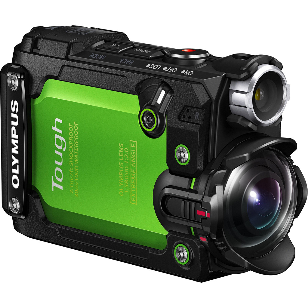 Olympus Tough TG-Tracker Groen in De Rips