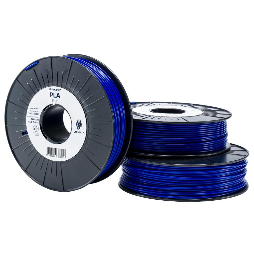 Ultimaker PLA Blauwe Filament 2.85 mm (0,75 kg) in Hollenberg