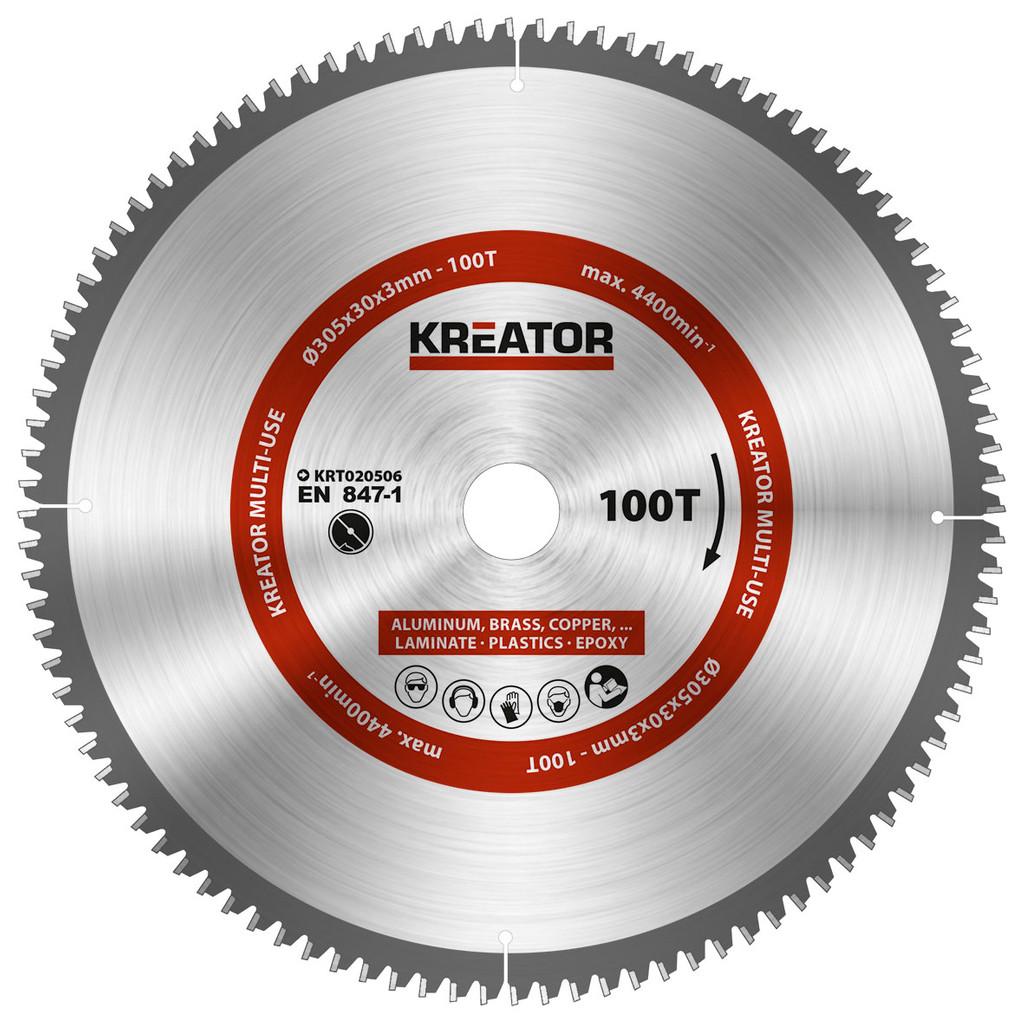 Kreator Universeel Zaagblad 305x30x3mm 100T kopen