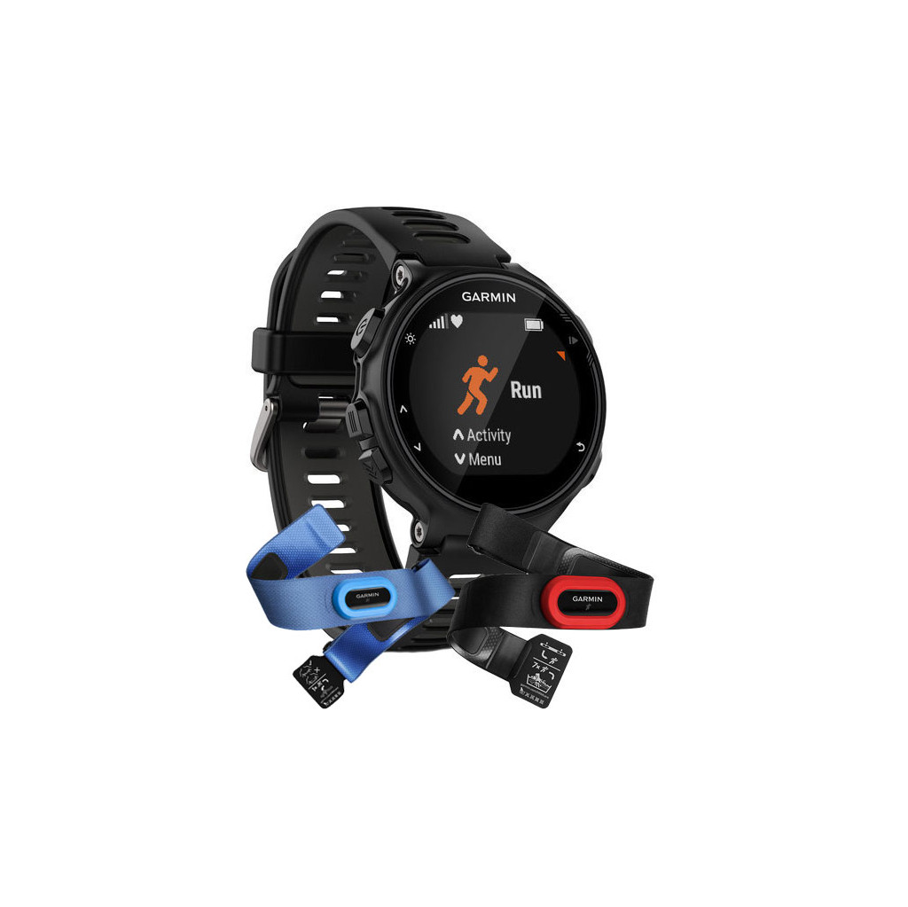 Garmin Forerunner 735XT Tri Bundel Zwart kopen