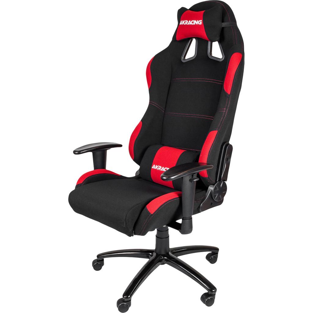 Afbeelding van AK Racing gaming Chair Zwart / Rood stoel